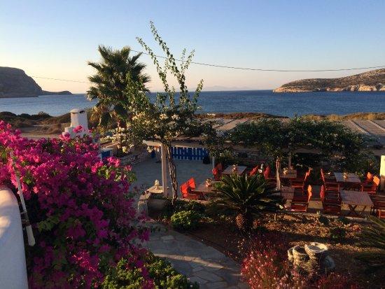 Agios Georgios, Grekland: la vue depuis chez nous