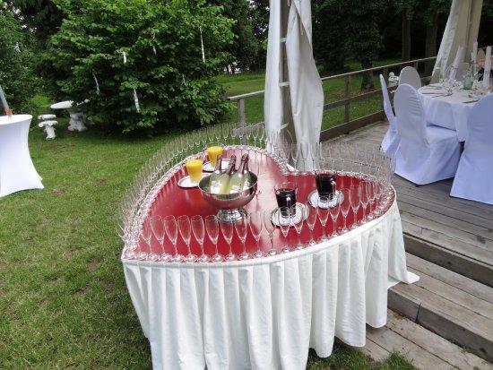 Kirchheimbolanden, Германия: Sektempfang bei Hochzeit