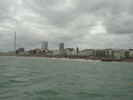 Brighton and Hove, UK: View from the Brighton Pier