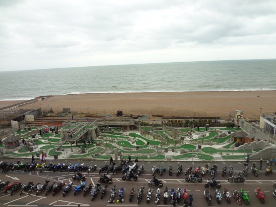 Brighton and Hove, UK: A place for playing...