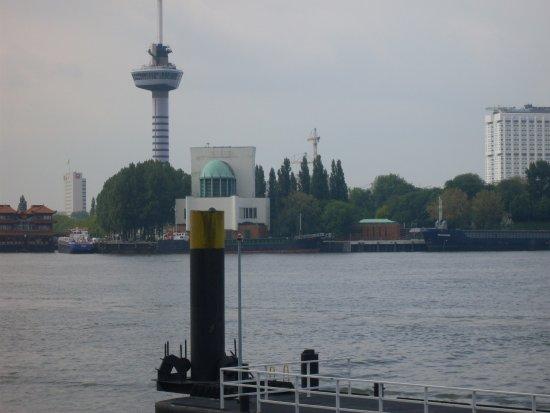 Spijkenisse, Belanda: uitzicht op de stad Rotterdam
