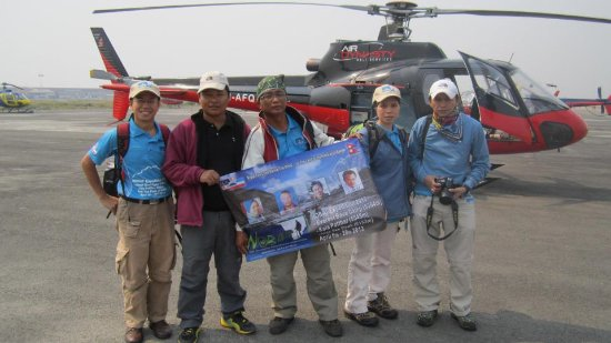 Kathmandu Valley, Nepal: Helicopter tours in Nepal