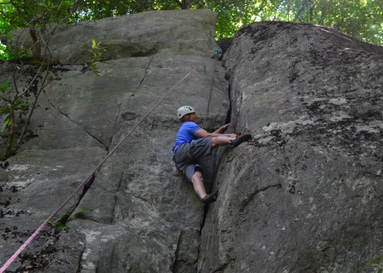 Rock Dimensions Climbing Guides: Climbing the crag.