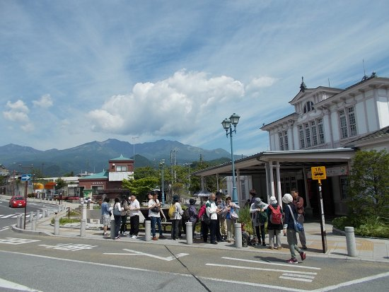 Shinkyo: Nikko Station (about a half-hour walk from the Bridge at the start of the Heritage Area)