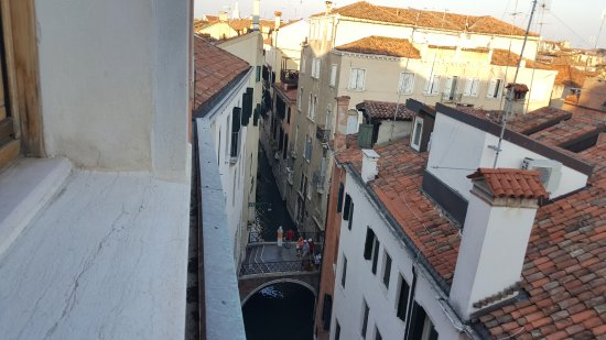 Palace Bonvecchiati: View from the rooms on the 4th floor