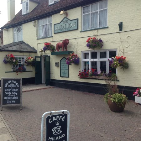 East Bergholt, UK: A traditional village pub.