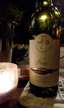Подебрады, Чехия: Moje (od teďka) nejoblíbenější víno na světě!
