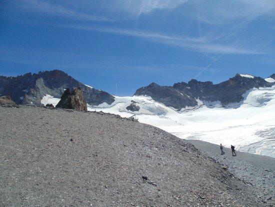 La Grave, Francia: panorama à 3200m