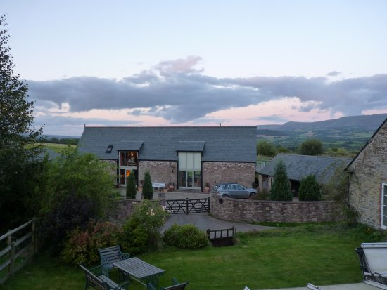 Brecon, UK: View from the Rose Suite