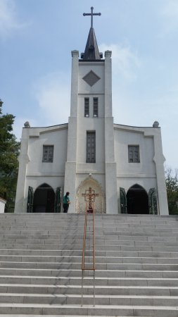 Anseong, Sydkorea: One of the oldest Catholic Churches in Korea and location of relics of St Andrew Kim Taegon