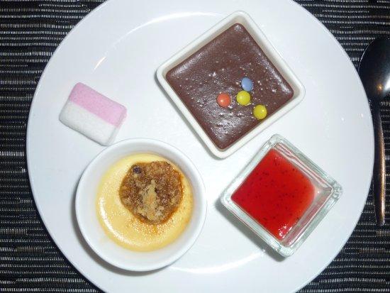 Overijse, België: Mon choix de desserts.