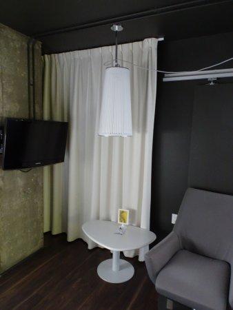 Hotel Zero 1: Sitzecke im Schlafzimmer