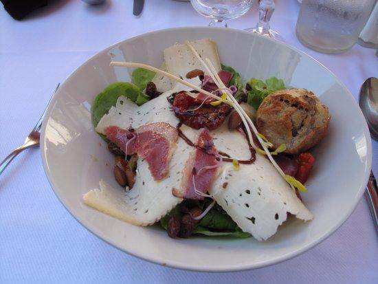 Lauzerte, France: Salade du Quercy