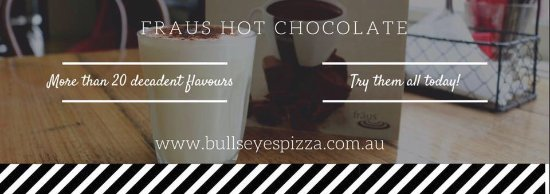 Creswick, Australia: Now serving Fraus hot chocolate!