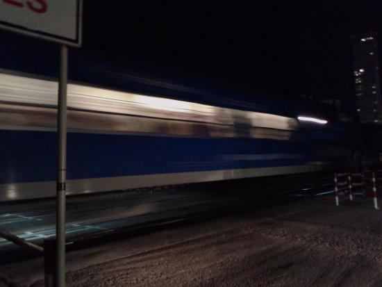 Palermo Viejo: Tren San Martìn- Divisiòn entre Palermo Soho y Hollywood- Bs.As. 2016.