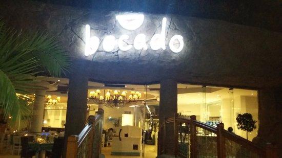Bocado: entrada do restaurante
