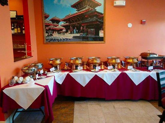 Miraculous Buffet Picture Of Kathmandu Spice Nh Manchester Tripadvisor Beutiful Home Inspiration Xortanetmahrainfo