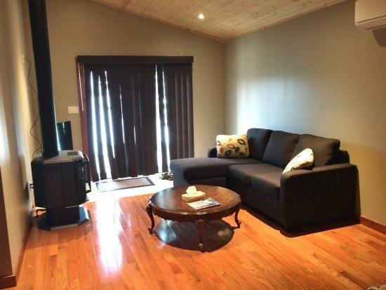 Minden, Kanada: Living area, executive cabin