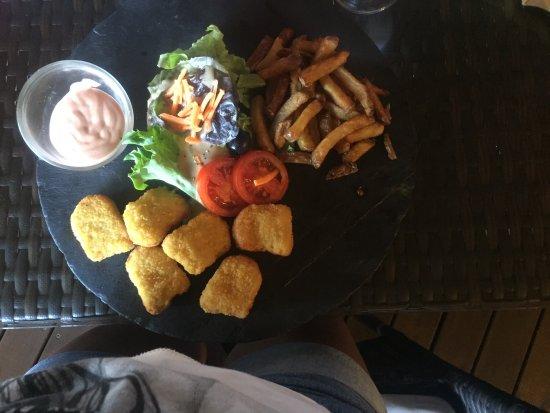 oh suzie q un fish and chips des crevettes flambees le