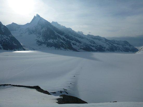 Aletsch Glacier: le glacier d'Aletsch