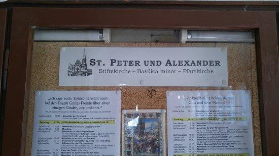 Aschaffenburg, Almanya: Sign