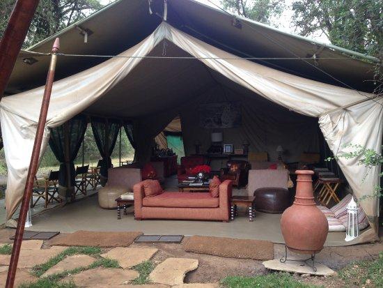 Nairobi Tented Camp: Communal tent