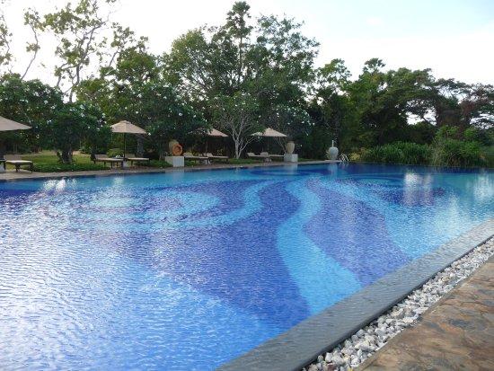 Thirappane, Sri Lanka: der zentrale Pool
