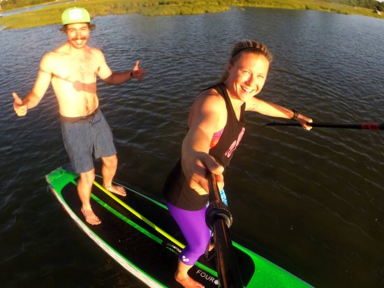 Pump House Surf Shop: Our weekly group SUP excursions with the #covetrollz are always a fun way to get out on the wate