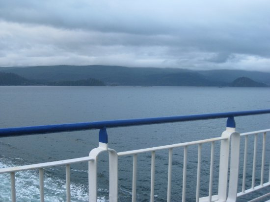 Tsawwassen, Canadá: Coming into Haida G'waii.