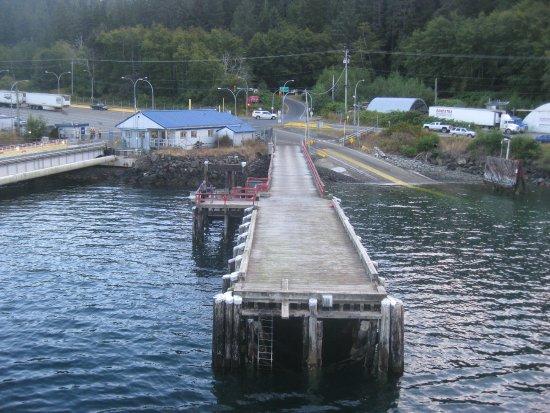 Tsawwassen, Kanada: Ferry terminal on Haida G'waii.
