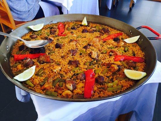 Tabernes de Valldigna, Spanje: RESTAURANTE ALZIMAR