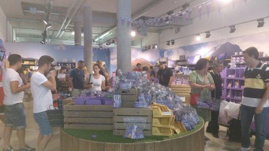 Metzingen, Tyskland: Loja Chocolates Milka