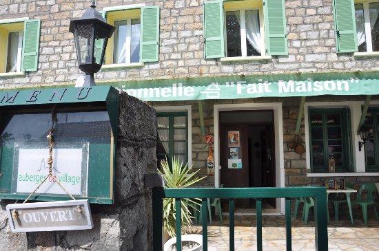 Evisa, França: Restaurant