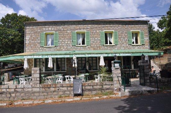 Evisa, Frankrig: Restaurant