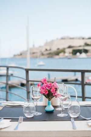 Ta' Xbiex, Malta: terrace view