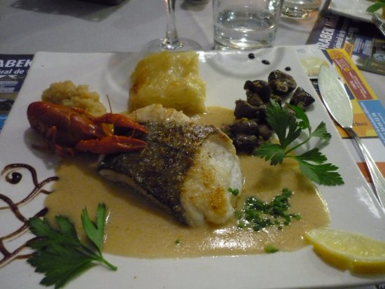 La Loupe, France: Filet de merlu