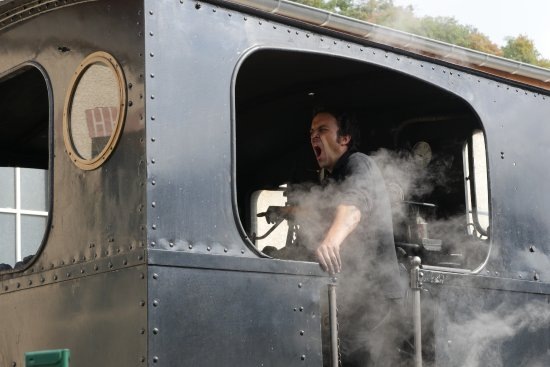 Tournon-sur-Rhone, Frankreich: A long morning for the conductor