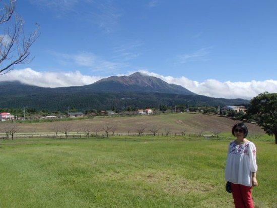 Miyakonojo, Japón: 霧島連山が眺められる