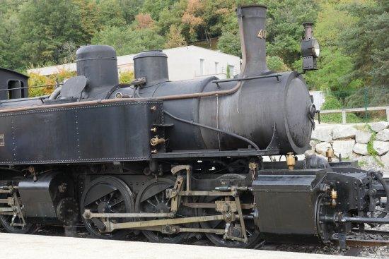 Tournon-sur-Rhone, ฝรั่งเศส: Locomotive steam engine