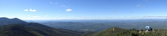 Franconia, Nueva Hampshire: Panorama vom Cannon Mountain
