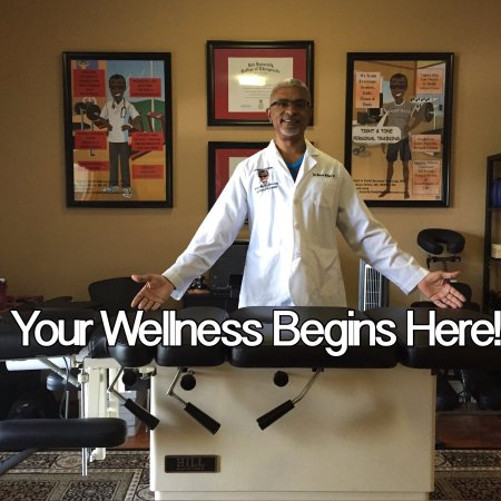 Kennesaw, Georgien: Chiropractor and adjustment room!