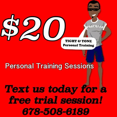 Kennesaw, Georgien: Personal Training Special