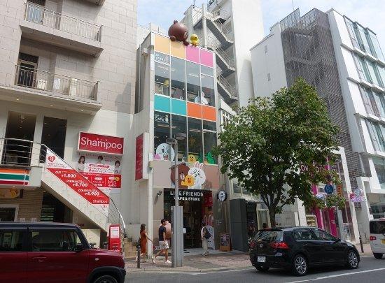 LINE FRIENDS CAFE & STORE 福岡