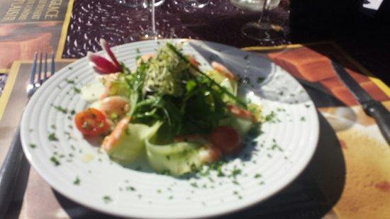Merlimont, França: Le repas a 18 euros