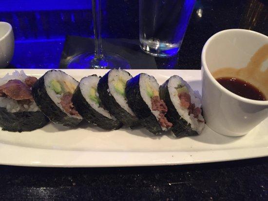 Allen, TX : Sushi at the bar