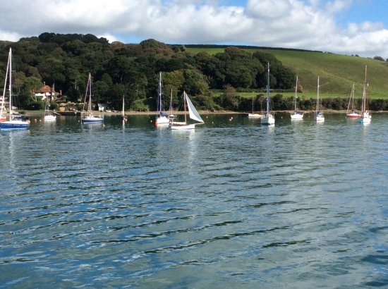 Falmouth, UK: On the cruise