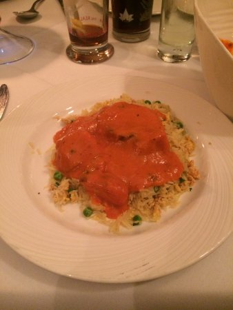 Voujon Indian Cuisine: Chicken Tikka and Special Pilau rice
