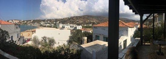 Batsi, Grecia: View from restaurant area