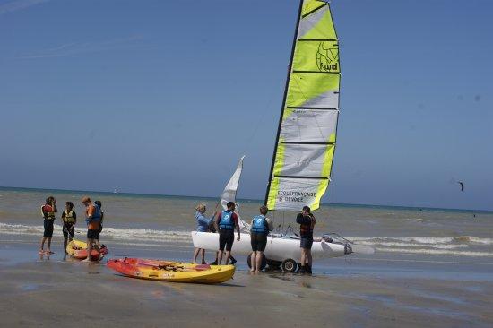 Quiberville, فرنسا: Activités nautiques à Quiberville @OTQSV