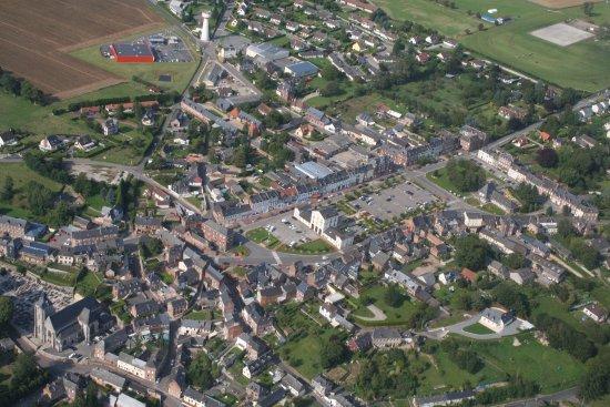 Quiberville, فرنسا: Bacqueville en Caux, bourg dynamique